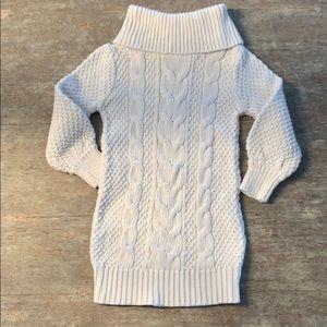Cable knit gap dress size 3T